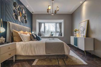 豪华型120平米三室一厅轻奢风格卧室图片