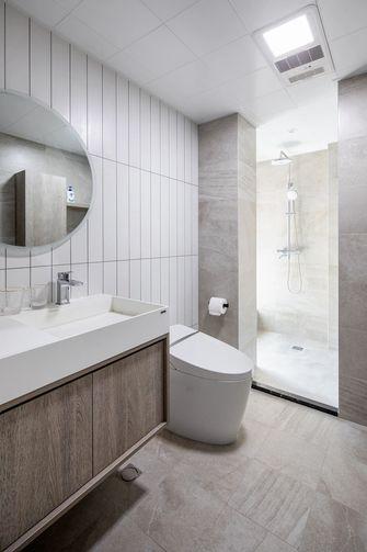 经济型100平米一室一厅现代简约风格卫生间设计图