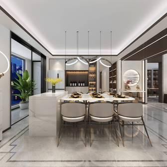 豪华型140平米复式中式风格餐厅图片