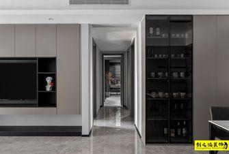 10-15万120平米三室两厅现代简约风格走廊图