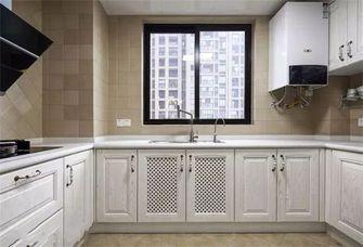5-10万90平米三室两厅美式风格厨房图片