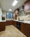 15-20万140平米四室两厅美式风格厨房欣赏图