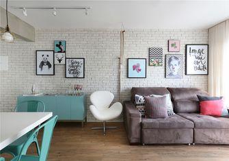 富裕型70平米公寓北欧风格客厅装修案例