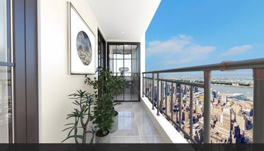 90平米中式风格阳台装修图片大全