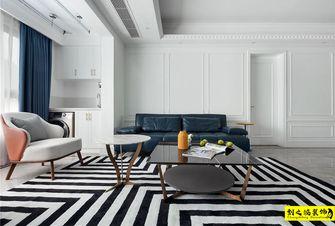 经济型90平米三室一厅混搭风格客厅效果图