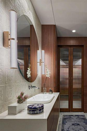 富裕型140平米别墅混搭风格卫生间装修效果图