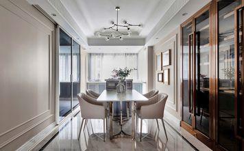 经济型140平米四室一厅美式风格餐厅效果图