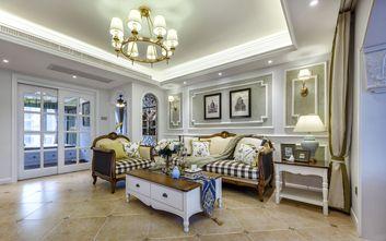 3万以下120平米三室一厅地中海风格客厅图片