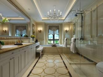 20万以上140平米别墅新古典风格卫生间装修图片大全