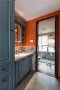 5-10万130平米三室三厅欧式风格卫生间装修效果图