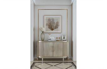 富裕型110平米三室两厅美式风格玄关图