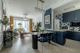豪华型100平米三美式风格餐厅效果图