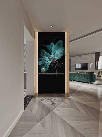 豪华型130平米三室两厅轻奢风格玄关设计图
