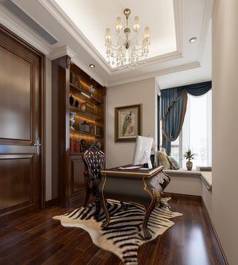 15-20万140平米四室两厅欧式风格书房欣赏图