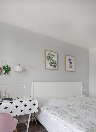 富裕型130平米三室两厅北欧风格卧室设计图