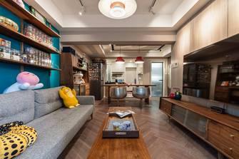 70平米公寓混搭风格客厅装修案例