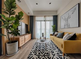 5-10万60平米一室一厅日式风格客厅图片