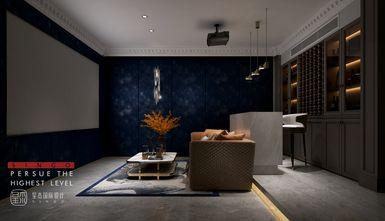 20万以上140平米别墅法式风格影音室图片