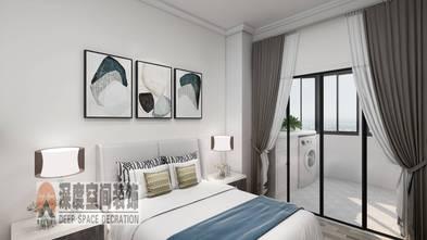 3-5万70平米现代简约风格卧室装修案例