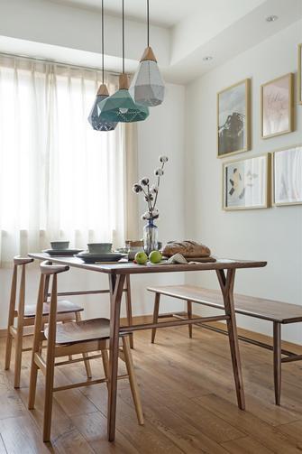 富裕型90平米三室两厅日式风格餐厅装修案例