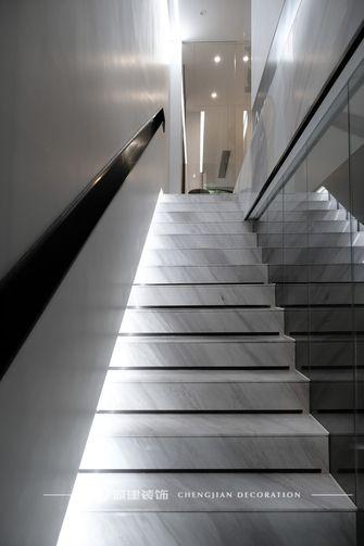 20万以上140平米别墅现代简约风格楼梯间装修案例