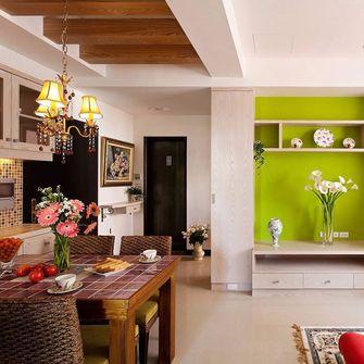 50平米田园风格客厅装修案例