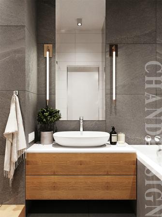 20万以上70平米一室一厅北欧风格卫生间设计图