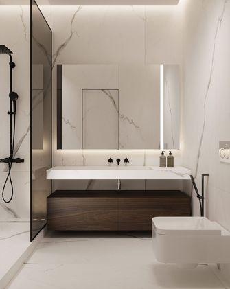 豪华型100平米三室两厅现代简约风格卫生间欣赏图