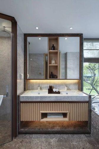 140平米三室两厅中式风格卫生间装修效果图