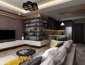 富裕型70平米公寓欧式风格客厅装修图片大全