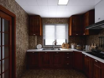 富裕型80平米三美式风格厨房设计图