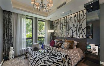 120平米一居室现代简约风格书房设计图