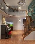 经济型140平米三室两厅美式风格走廊设计图