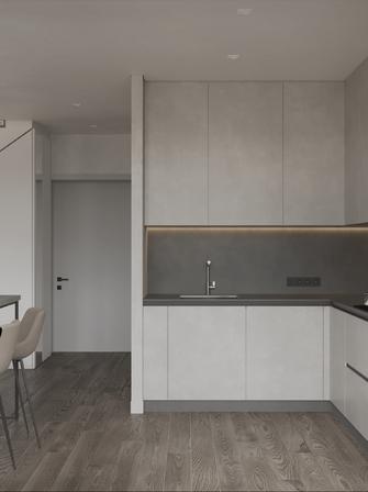 10-15万70平米三室两厅现代简约风格玄关设计图