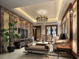 20万以上100平米三室两厅欧式风格客厅装修效果图