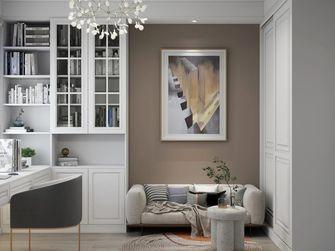 经济型120平米三室两厅欧式风格书房欣赏图