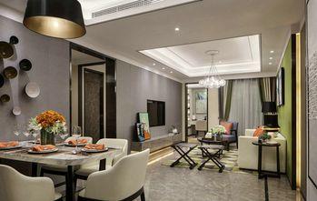 10-15万100平米三室一厅混搭风格餐厅欣赏图