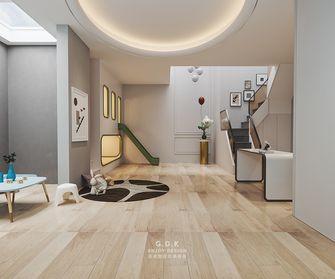 豪华型140平米复式现代简约风格楼梯间装修案例