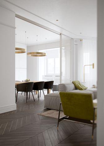 130平米三欧式风格客厅装修图片大全