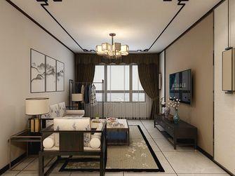富裕型100平米三室三厅中式风格客厅图片大全