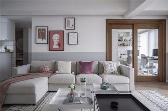 5-10万100平米三室一厅北欧风格客厅装修案例