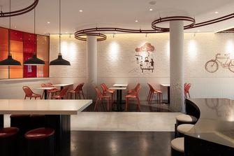 140平米公装风格餐厅装修图片大全