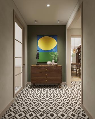 140平米三室三厅法式风格玄关图片大全