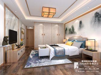 豪华型140平米别墅英伦风格卧室图片大全