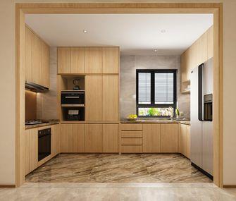 140平米别墅日式风格厨房欣赏图