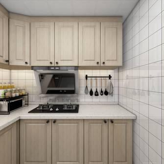 富裕型80平米轻奢风格厨房图片