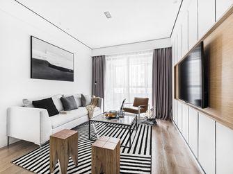 富裕型80平米北欧风格客厅装修效果图