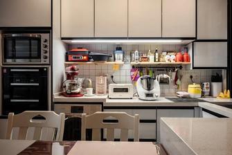 20万以上40平米小户型混搭风格厨房装修案例