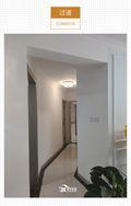 富裕型三室两厅现代简约风格走廊图片