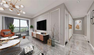 130平米三室两厅现代简约风格阳台效果图